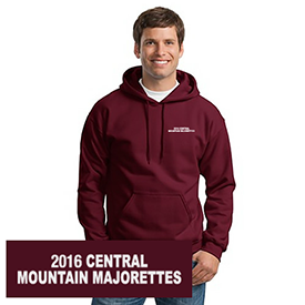 Central Mountain Majorettes hoodie