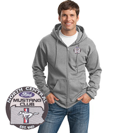 North Central Mustang Club hoodie
