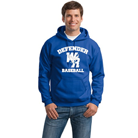 Warrior Run Baseball hoodie
