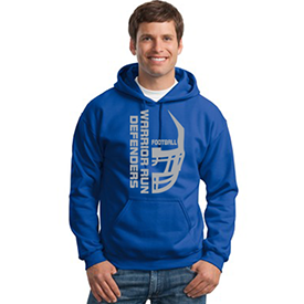 Warrior Run Football hoodie