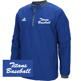 Jacket Titans 11u Travel Baseball jacket