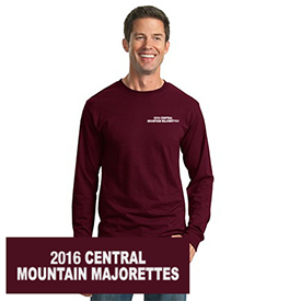Central Mountain Majorettes long sleeve