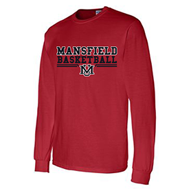 Mansfield University Women's Basketball long sleeve