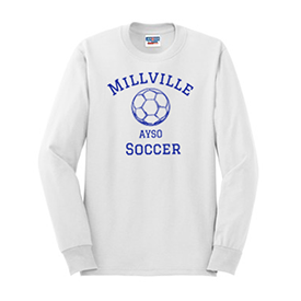 Millville AYSO long sleeve