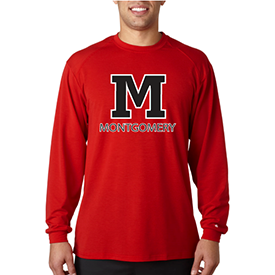 Montgomery Area School District long sleeve