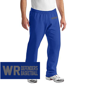 Warrior Run Basketball sweat pants