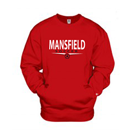Mansfield University Women's Soccer sweat shirt
