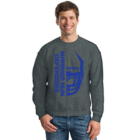 Warrior Run Football sweat shirt