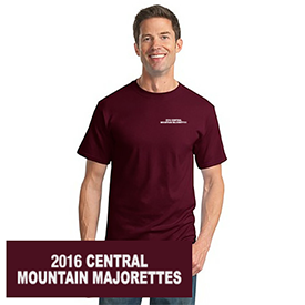 Central Mountain Majorettes t-shirt