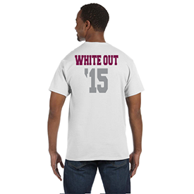 Lock Haven Whiteout t-shirt