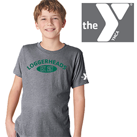 Lock Haven YMCA Loggerheads t-shirt