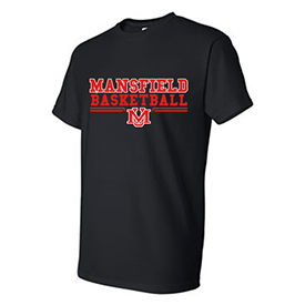 Mansfield University Women's Basketball t-shirt