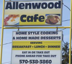 Allenwood Cafe logo