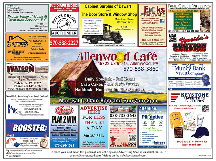 Allenwood Cafe