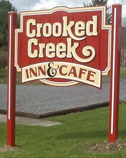 Crooked Creek Inn and Cafe logo