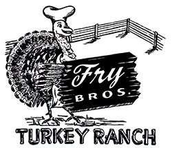 Fry Brothers's Turkey Ranch logo