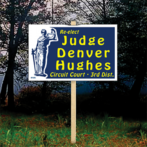 Double-Sided Stake Signs 2