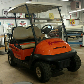 Blaise Alexander Golf Cart