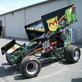 Moonshine Camo Sprint Car