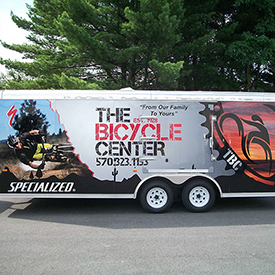 Bicycle Center trailer