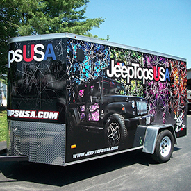 Jeep Tops USA trailer