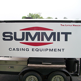 Summit Chasing Equipment trailer